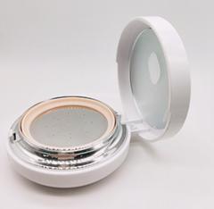 15g按壓泵鏡面冷盤鋼片韓國化妝粉盒 真空氣墊BB霜盒