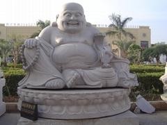 石雕彌勒佛