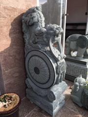 石雕抱鼓門鼓