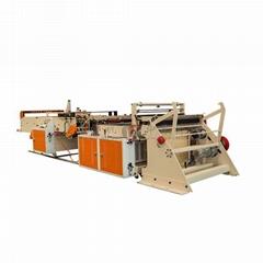 Newest Type Cold Cutting Hot Sealing Flat Garbage Bag Making Machine