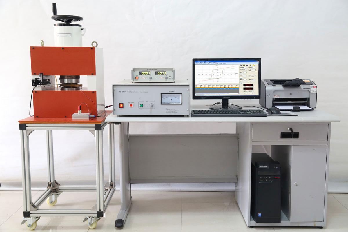 永磁材料自動測量裝置 1