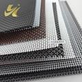 Fireproofing fiber glass window screen