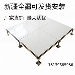 陶瓷面象牙白抗防静电地板