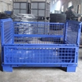 rigid metal bulk wire mesh containers