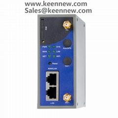 Industrial 4g wireless modem router din rail mount 2 port Modbus RTU TCP