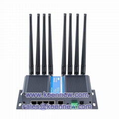 industrial cellular 5g modem router with sim serial RS232 RS485 WiFi for M2M