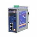 Industrial 4g wireless modem router din rail mount 2 port Modbus RTU TCP 2