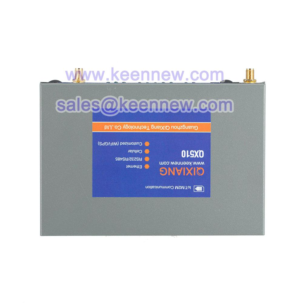 Industrial grade 4G cellular M2M router with 5 Ethernet Port Serial 2