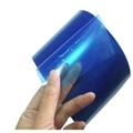 蓝色PE静电膜蓝色PE自动吸附