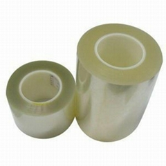 透明双层防静电硅胶保护膜双面防静电屏幕保护膜粘性定制
