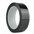 黑色PET电池专用胶带哑黑色胶