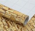 Waterproof Brick Design Self Adhesive