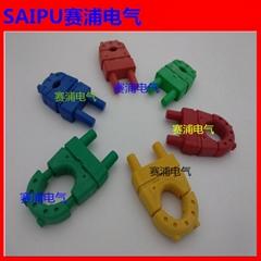 緊線器低壓電纜終端回頭綁紮固定夾緊線器一碼通緊線器