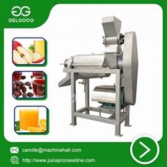 Crush type Fruit Juice Extraction Machine industrial juice making machine