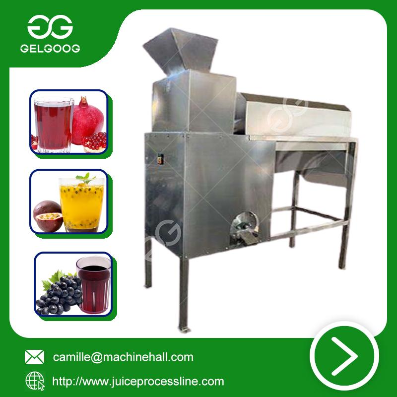 Passion fruit juicer commercial fresh juice making machine 3