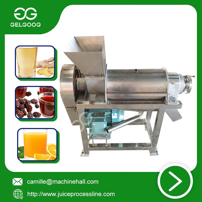 Fruit Juice Extraction Machine small scale juice making machine low price 2