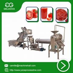 Tomato Paste Production Line Fresh Tomato Sauce Making Machine