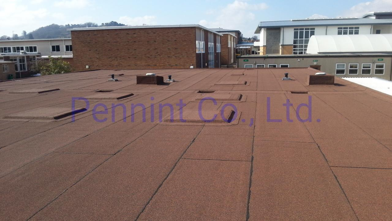 Torch-on modified bitumen waterproofing membrane roofing sheets 2