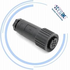 现货SP-ZH-7P 工业插头阿托斯阀用航空插头连接器比例阀7芯插头