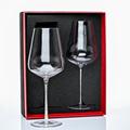 Hand blown rhinestone wine glass 25oz