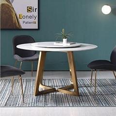 佛山六號倉家居不鏽鋼輕奢定製餐桌1