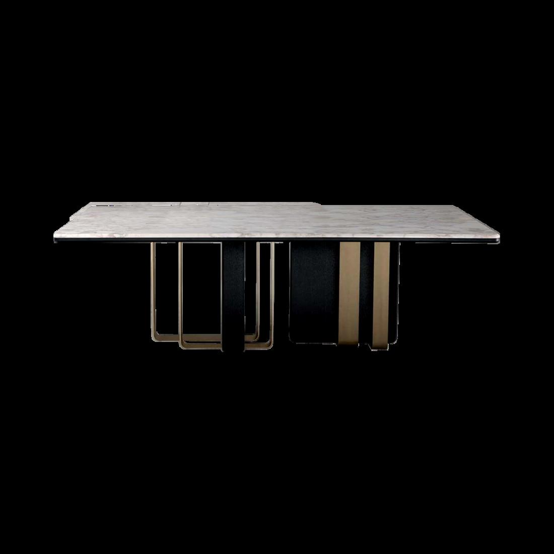 佛山六號倉家居不鏽鋼輕奢定製餐桌2 1