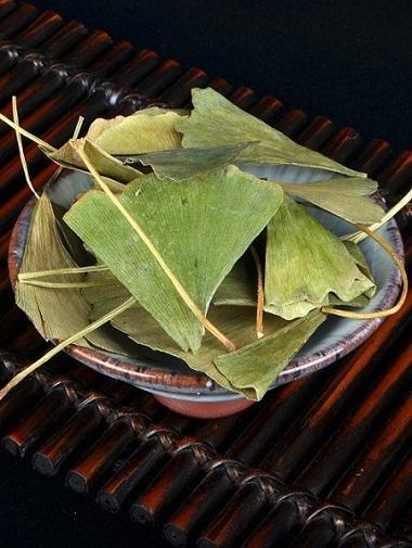 Dried ginkgo leaf for hemiplegia Chinese herbal ginkgo dried leaves  1