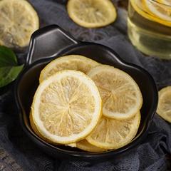 Hot sale freeze dried fruit dehydrated lemon slices high vitamin FD lemon for te