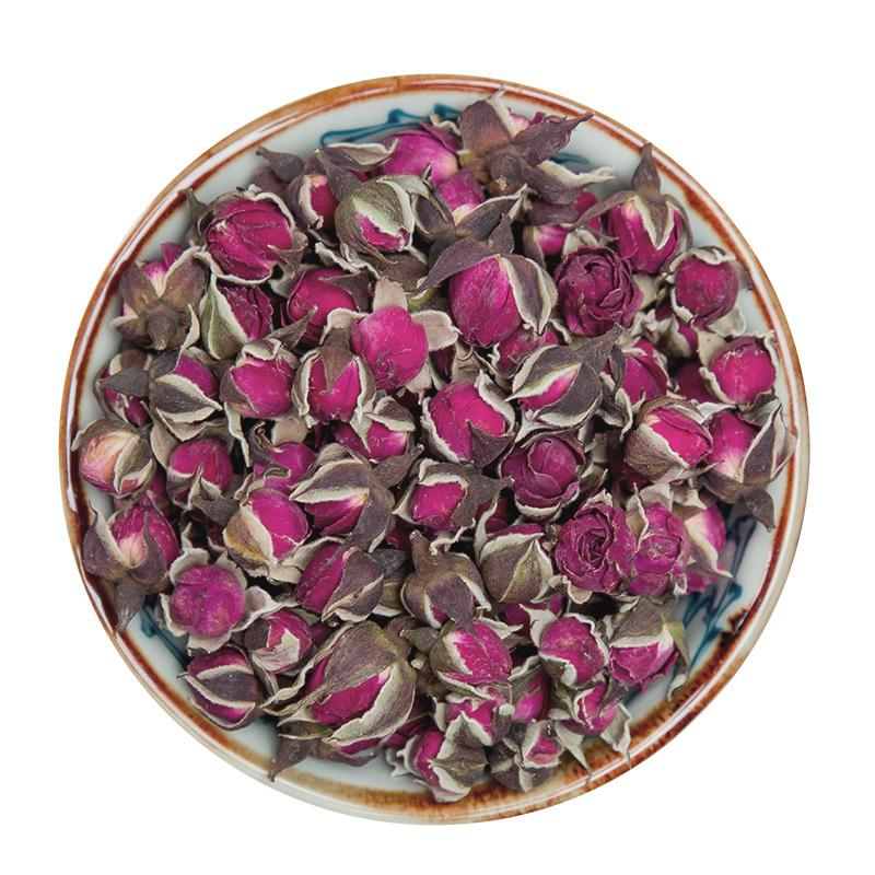 Top quality herbal tea dried roses flower Rosa rugosa tea for export  3