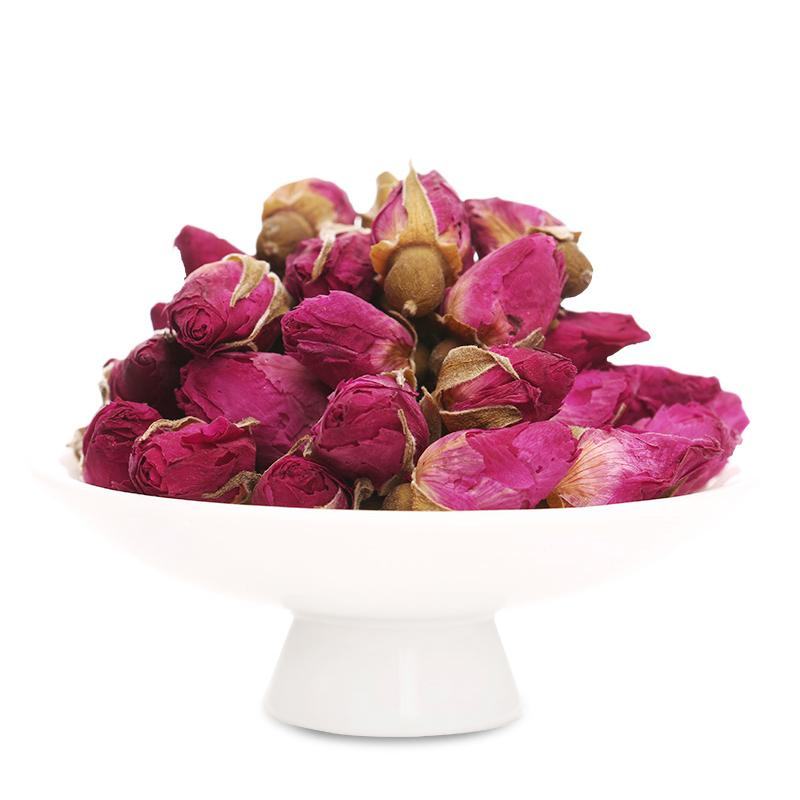 Top quality herbal tea dried roses flower Rosa rugosa tea for export  4