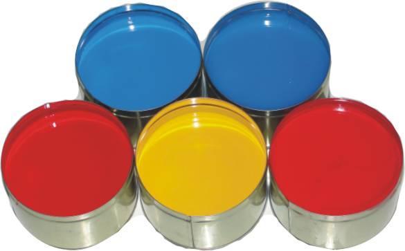 絲印UV玻璃油墨 2