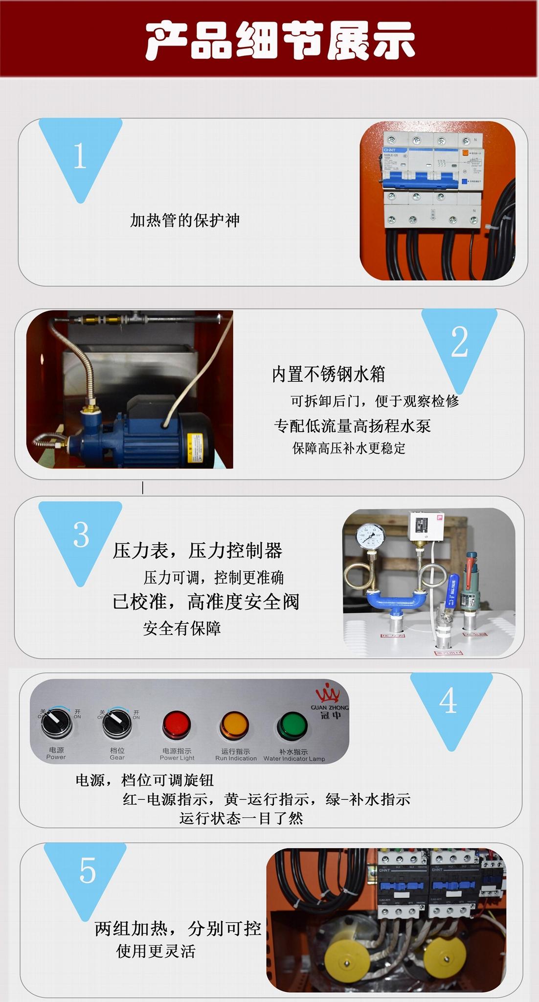 节能全自动蒸汽发生器 4