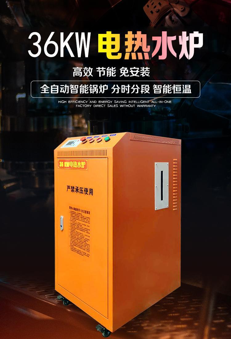 36kw小型电蒸汽发生器 1