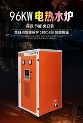 燃气电加热电磁天然气家用采暖炉热水锅炉