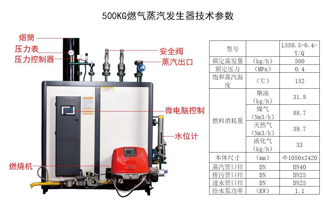 大型商用工业食品加工生产线全自动蒸汽锅炉 1