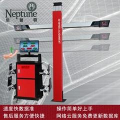 3D四輪定位儀 DT211E 手動滑動橫杆獨立機櫃款