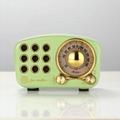 蓝牙收音机  迷你复古收音机 便携式收音机复古蓝牙音箱 2