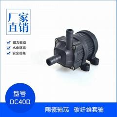 小型直流无刷机械仪器散热冷却微型喷泉磁力隔离防水潜水泵