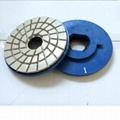 """4"""" 4-step diamond resin chamfering wheels for granite 2"""