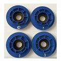 """4"""" 4-step diamond resin chamfering wheels for granite 5"""