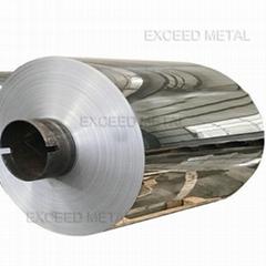 Aluminium mirror coil
