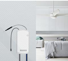Wi-Fi Smart Ceiling Fan with Light Controller