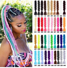 2020 African braiding hair extension hot selling