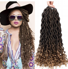 fashion crochet braiding hair wholesale cheapest price