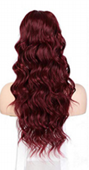 2020 hot selling synthetic fiber wigs