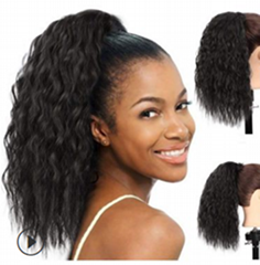 ponytail hair extension for african