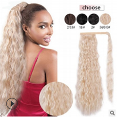 Factory producding ponytail low price