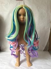2020 America synthetic fiber doll wigs