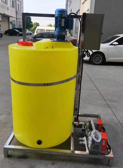 加藥裝置加藥一體化水處理加藥裝置污水處理計量泵 1