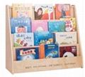 儿童雙面系統圖書櫃
